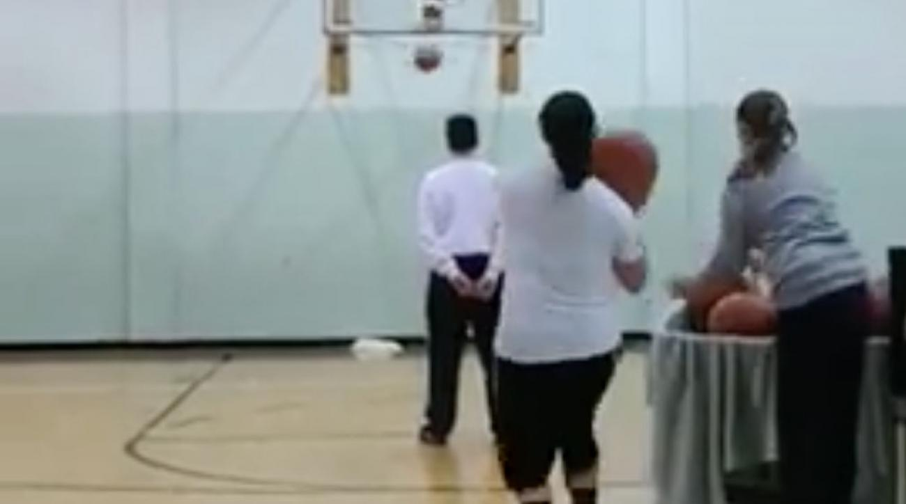 Watch: Somehow, This Jump Shot Set the Guinness Record for Most Threes in a Minute