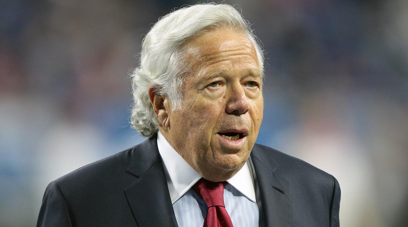 Patriots owner Robert Kraft