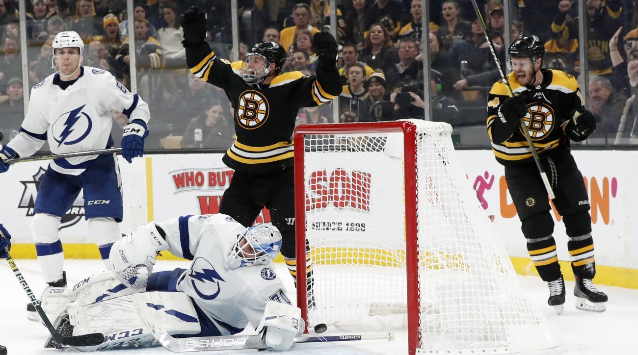 NHL: FEB 28 Lightning at Bruins