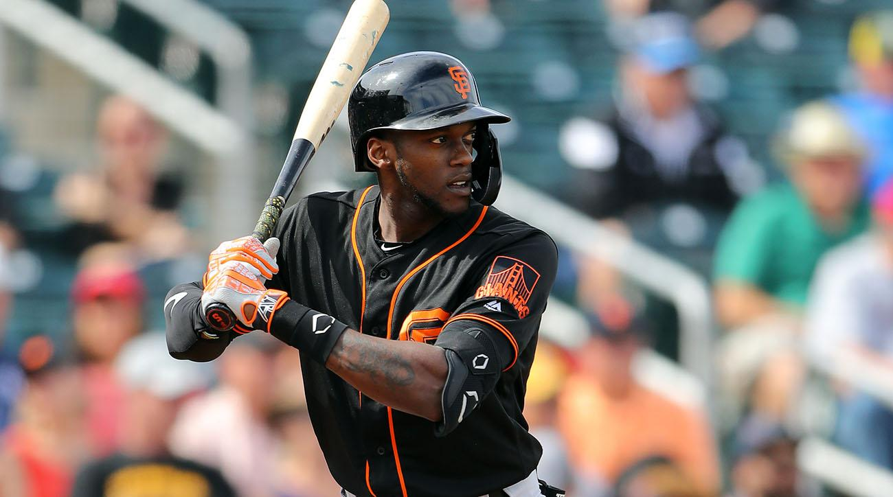 Giants OF Cameron Maybin arrested on DUI charge at spring training