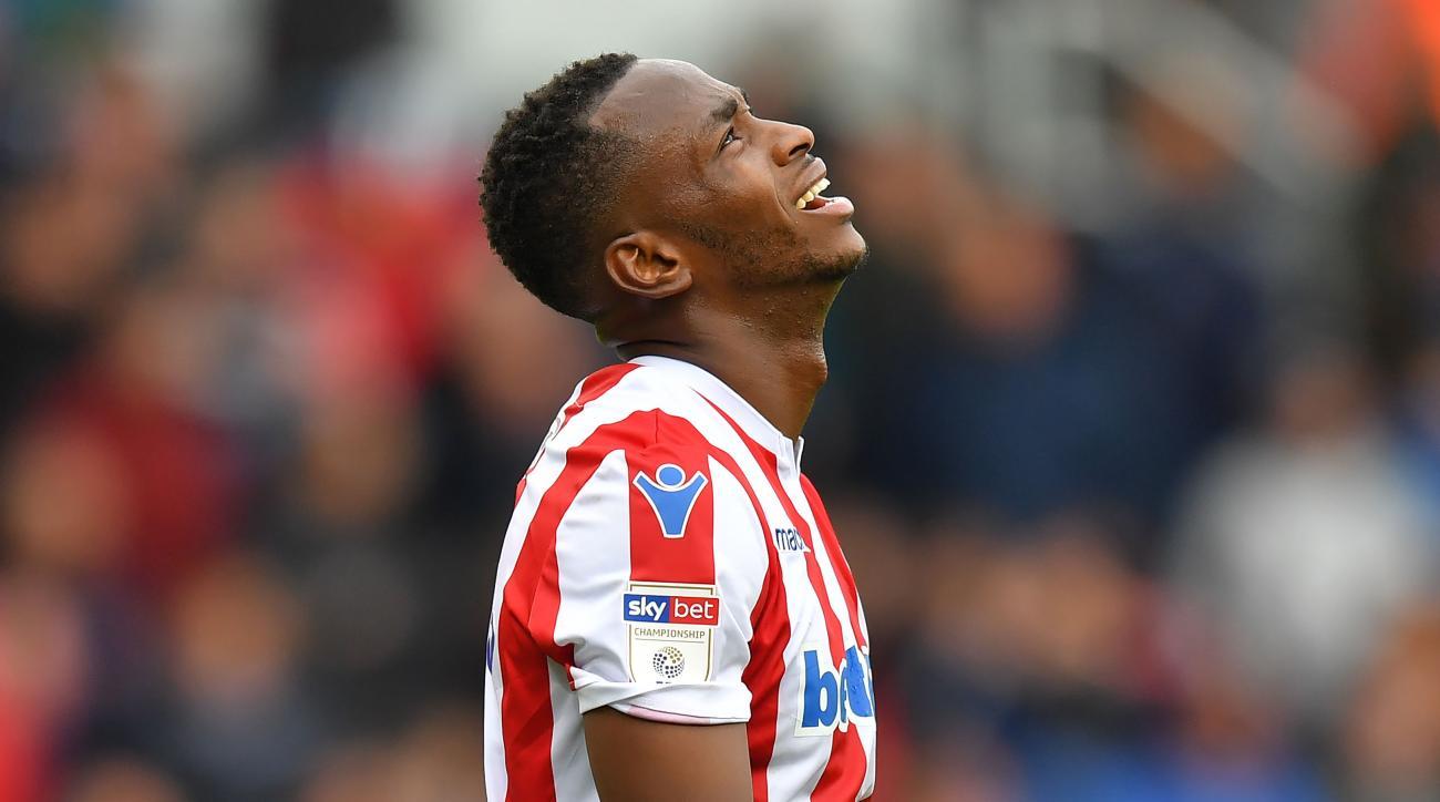 Saido Berahino: Stoke City striker gets parking ticket while in court