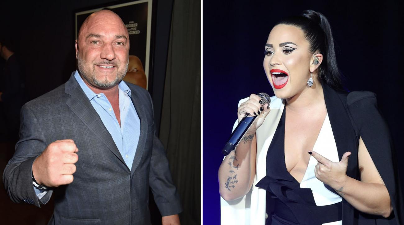 Demi Lovato knocked Jay Glazer's tooth out while training in MMA