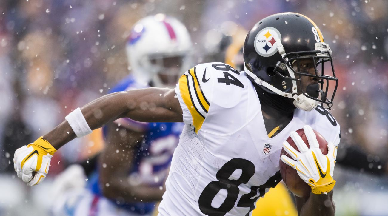 Antonio Brown Rumors Pro Bowl Wr Not Being Traded To Bills