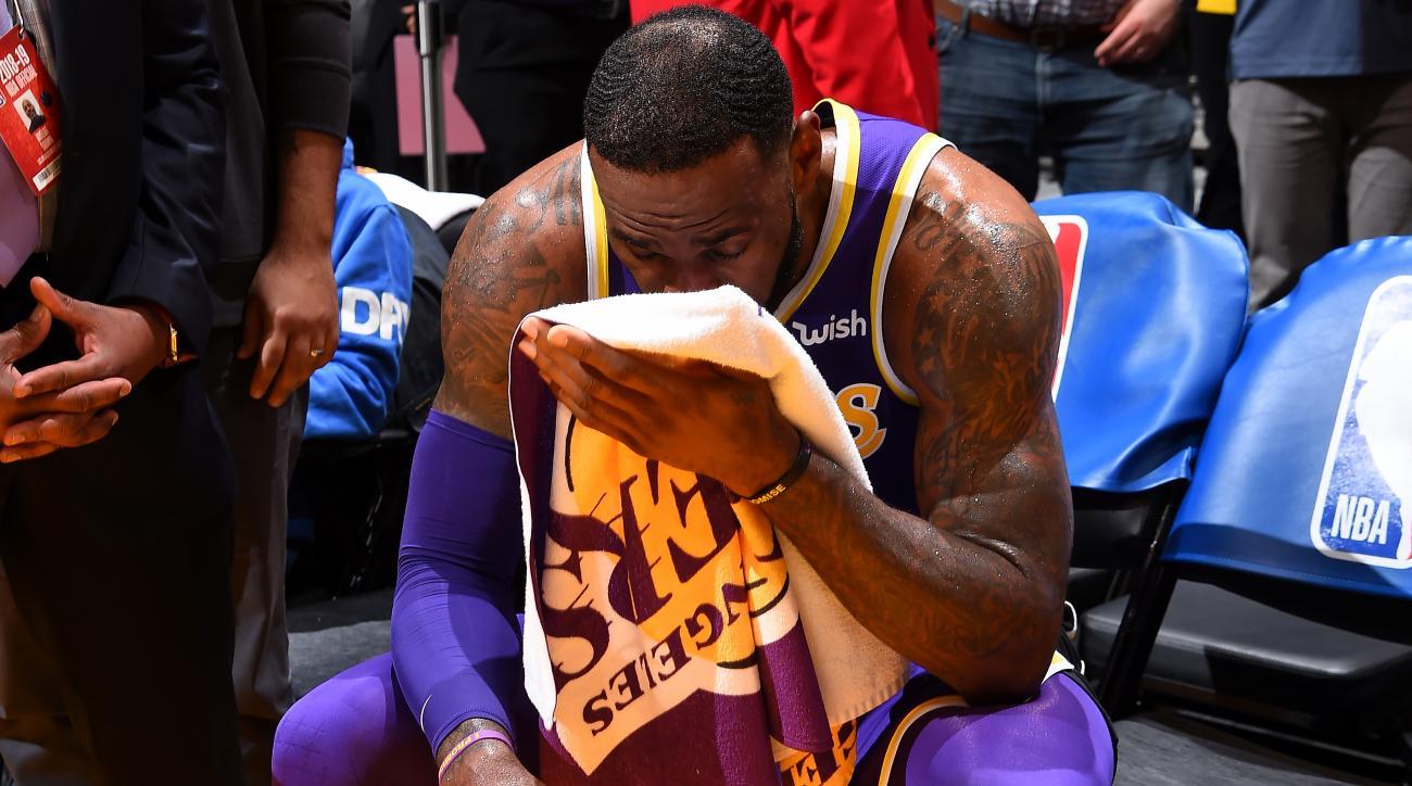 LeBron James Passes Michael Jordan on Scoring List Amid Uncertain Lakers  Future eb386c528