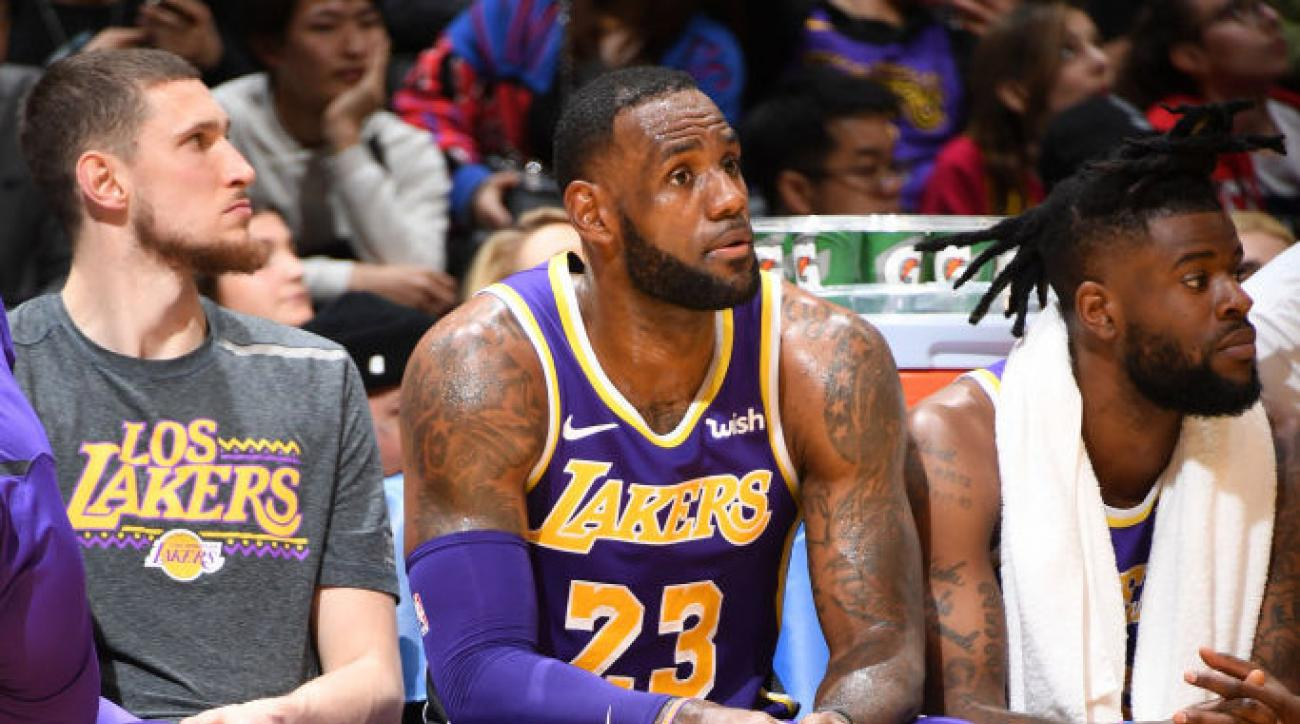 f6f744874422 Flipboard  Report  Lakers Will Place LeBron James on Minutes Restriction