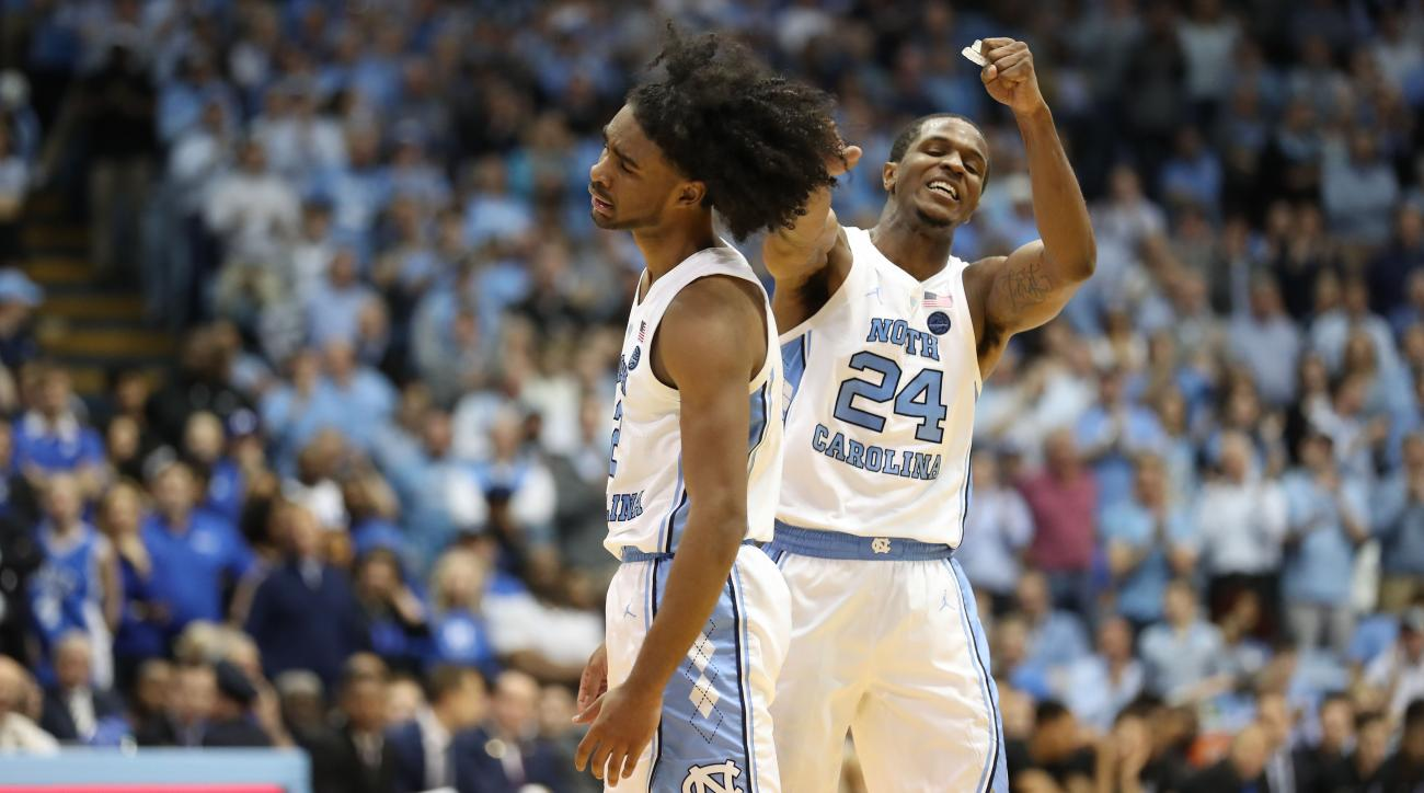 UNC basketball: Coby White, Kenny Williams lead Tar Heels