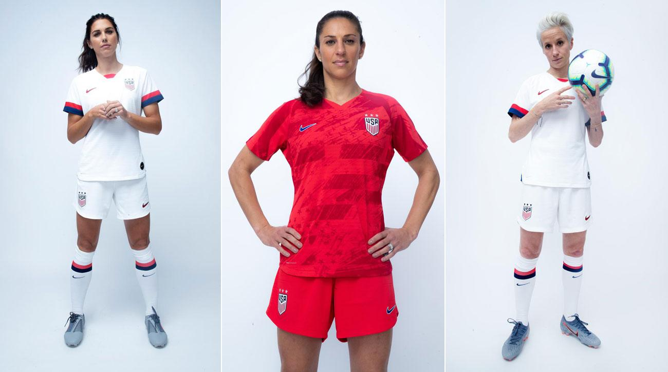 various colors ad109 34bd0 USWNT 2019 Women's World Cup kits: New jerseys unveiled ...