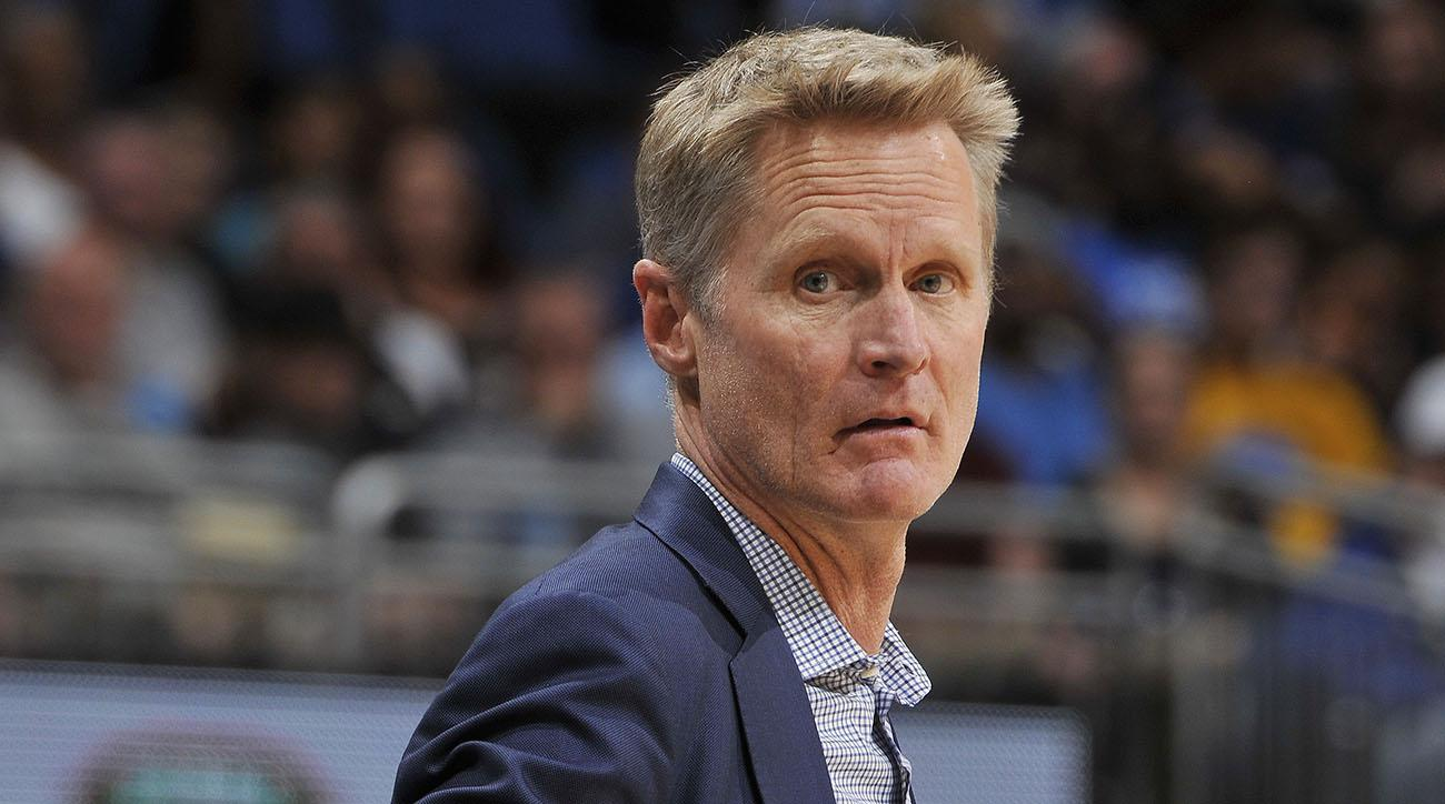 What exactly was Steve Kerr saying on Sunday?