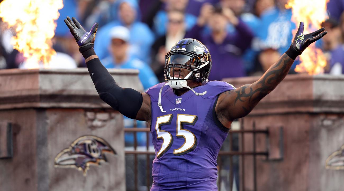 finest selection d6b29 8b402 Ravens LB Terrell Suggs to join Cardinals after 16 seasons ...