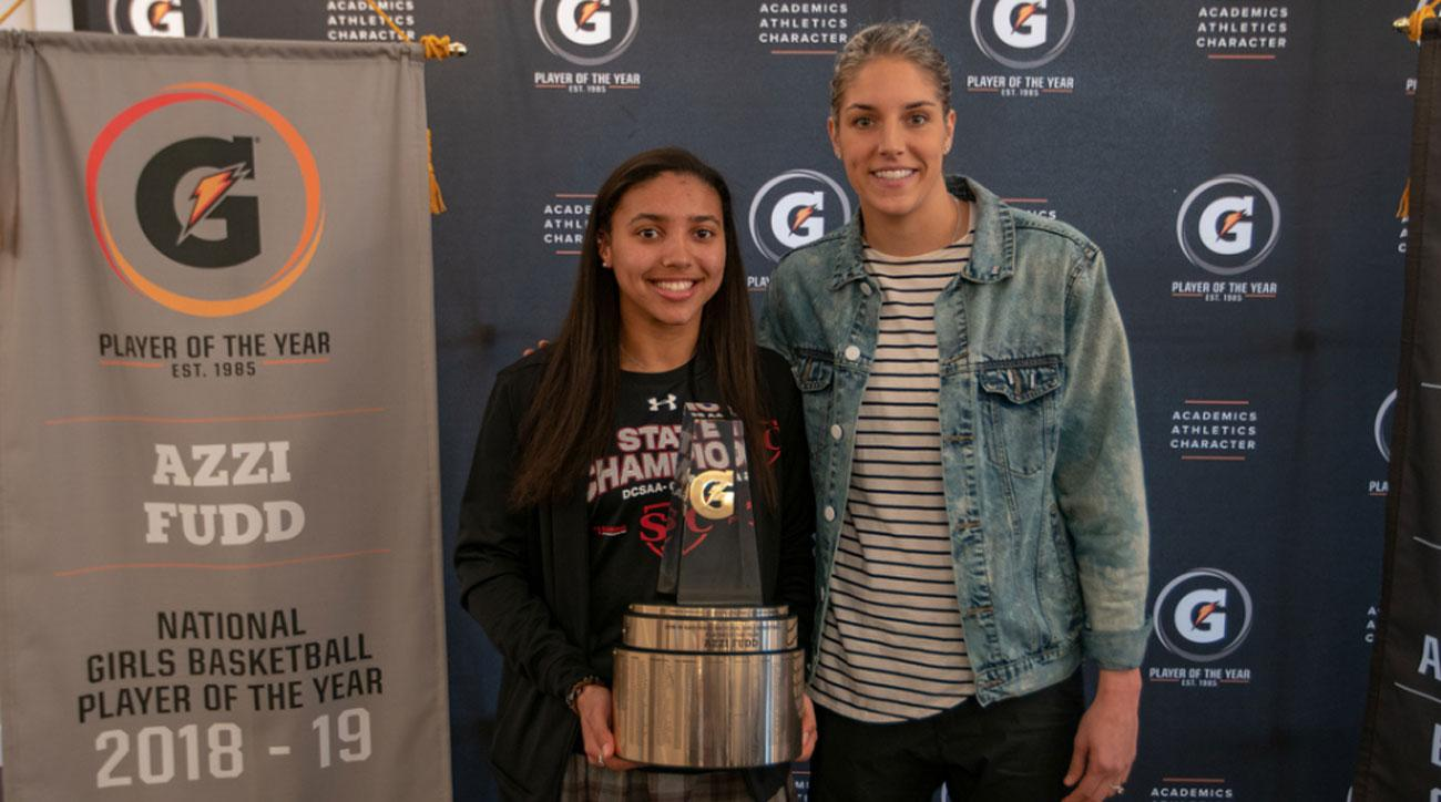 Azzi Fudd Is First Sophomore to Ever Win Gatorade National Girls Basketball Player of the Year