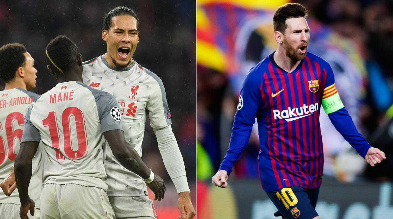 Liverpool and Barcelona reach the Champions League quarterfinals