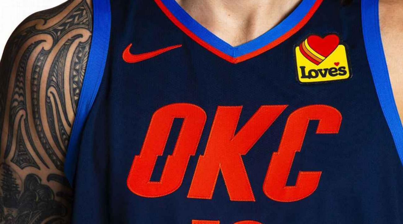 pretty nice 86e3a dced4 OKC Thunder: Team's patch deal completes sponsorship for all ...