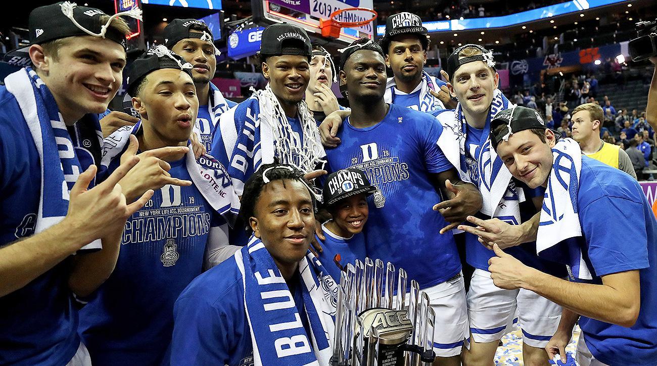 Duke basketball March Madness NCAA tournament 2019 Zion Williamson