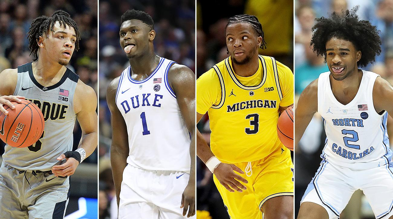 NCAA tournament 2019 team rankings March Madness Duke UNC Virginia