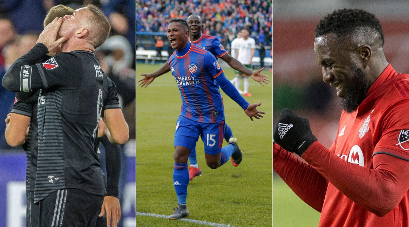 Wayne Rooney, Allan Cruz and Jozy Altidore all scored big goals over the weekend in MLS