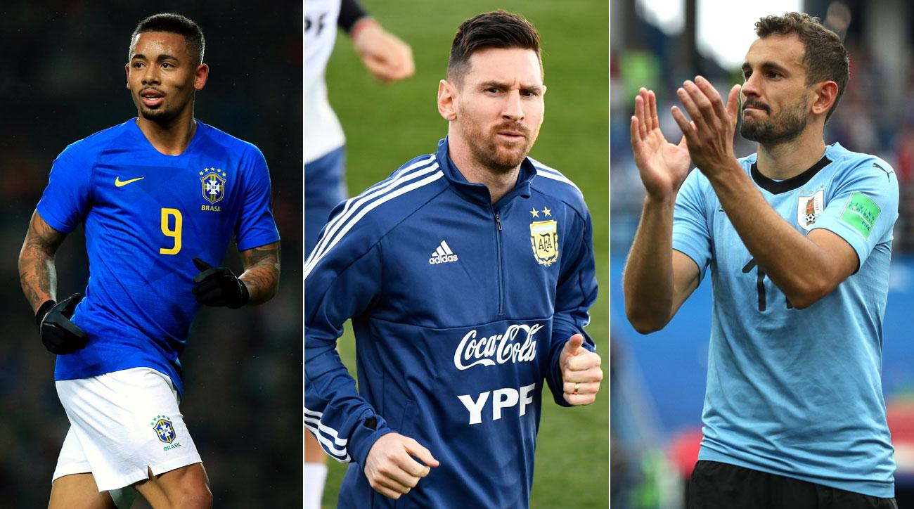 Brazil, Argentina and Uruguay return to action, preparing for Copa America this summer