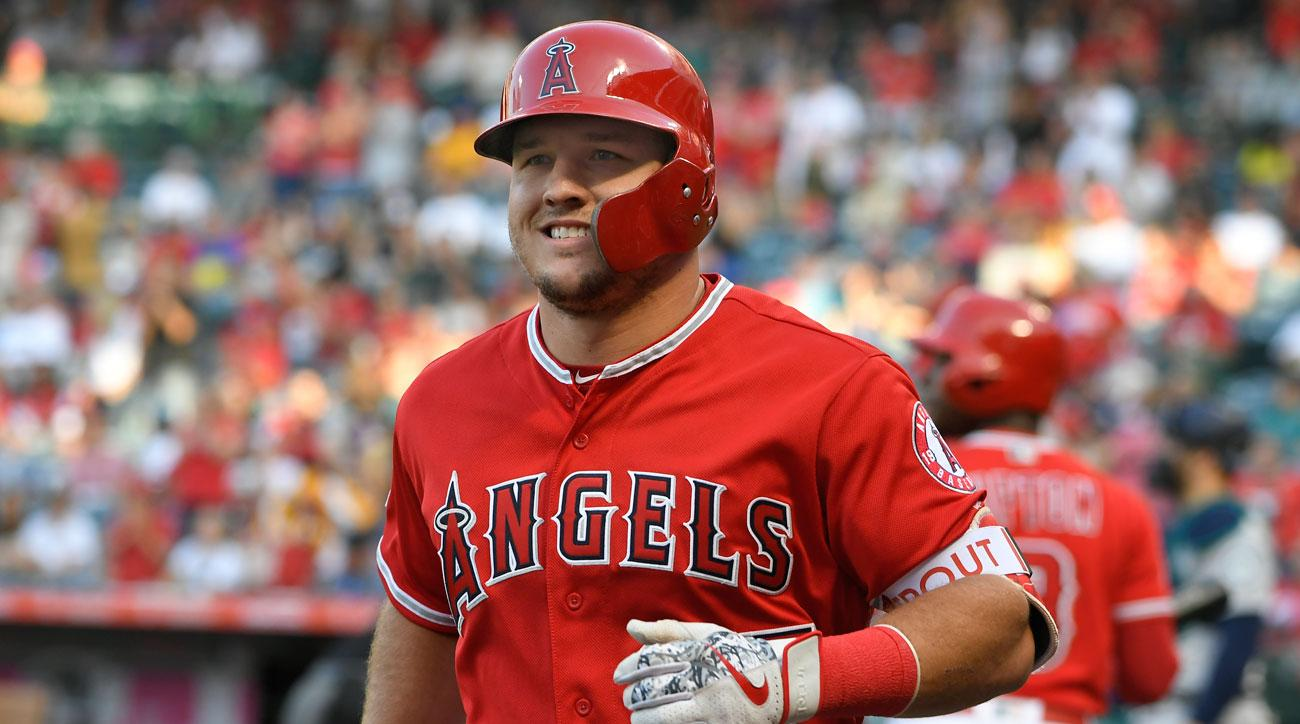 Mike Trout Is Getting Paid (More Than Bryce Harper) And The Internet is Loving It