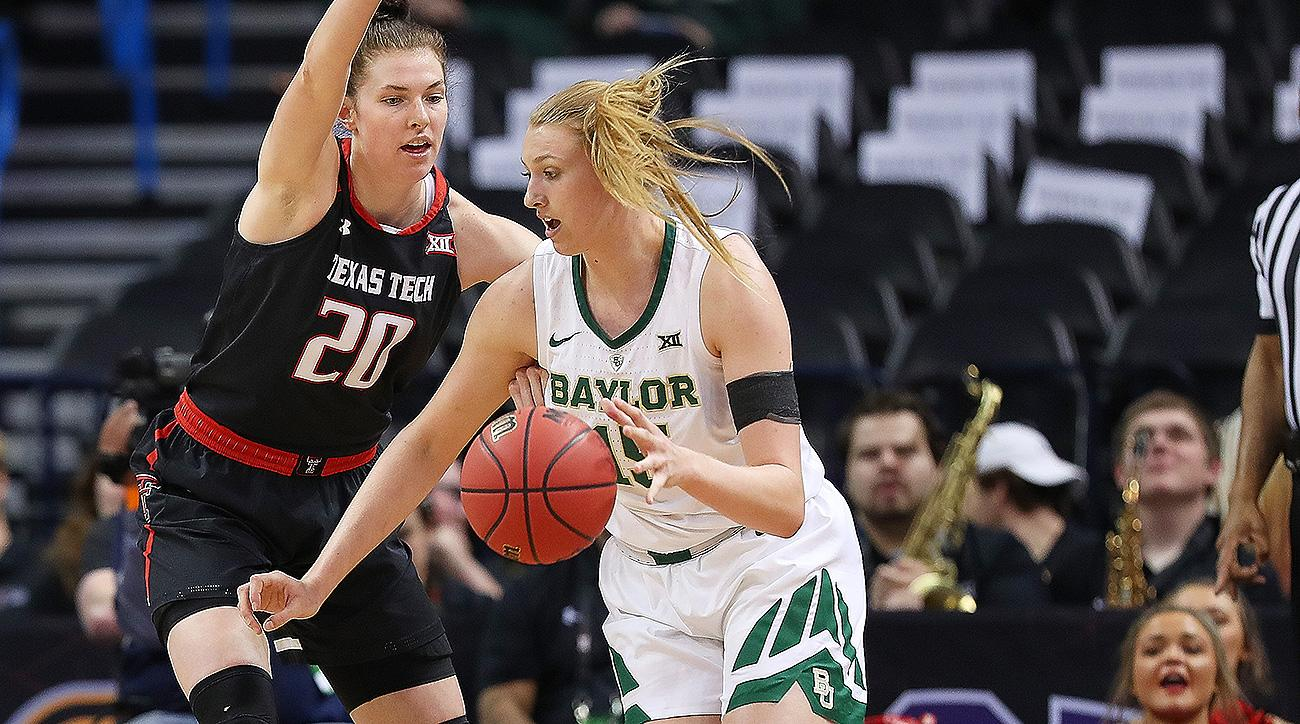 Women's NCAA tournament 2019 Baylor Bears Lauren Cox March Madness