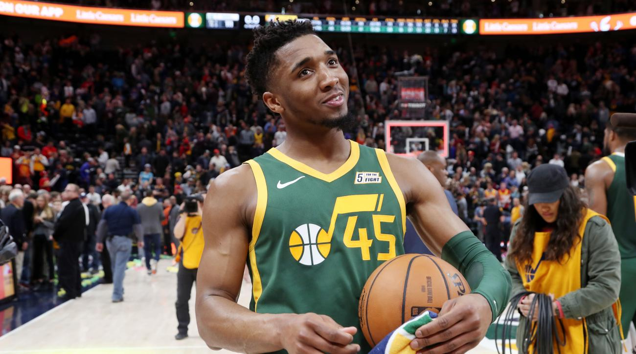 1e2fec3c9 Donovan Mitchell Makes the Shift From Rookie Sensation to Bankable Star