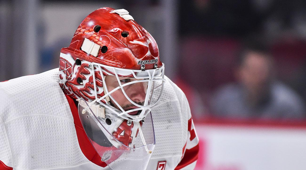 Jimmy Howard signs extension Red Wings