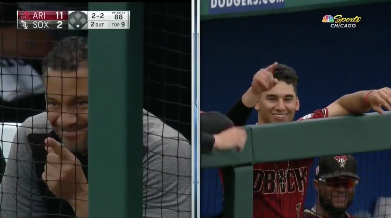 Alek Thomas: D-Backs prospect makes dad proud with homer (video)
