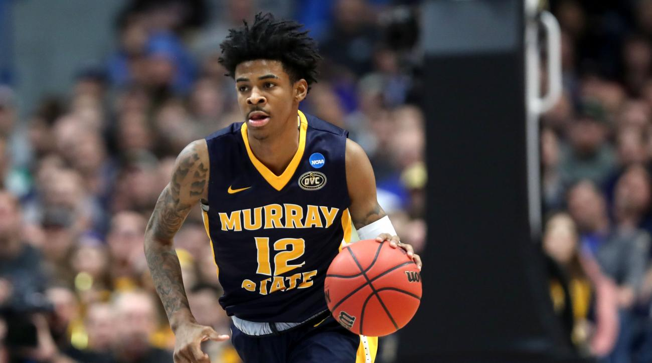 march madness 2019  ja morant lives up to the hype in
