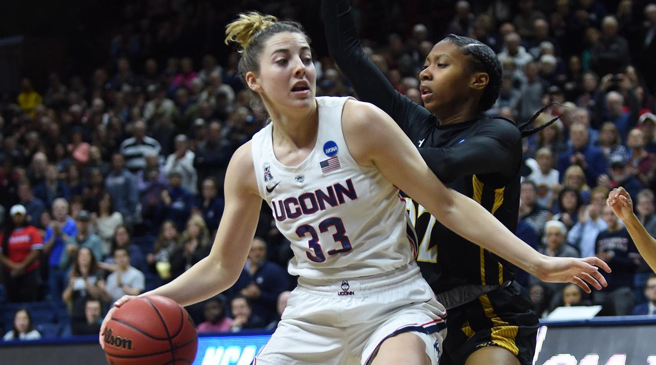 NCAA BASKETBALL: MAR 22 Div I Women's Championship - First Round - Towson v UConn