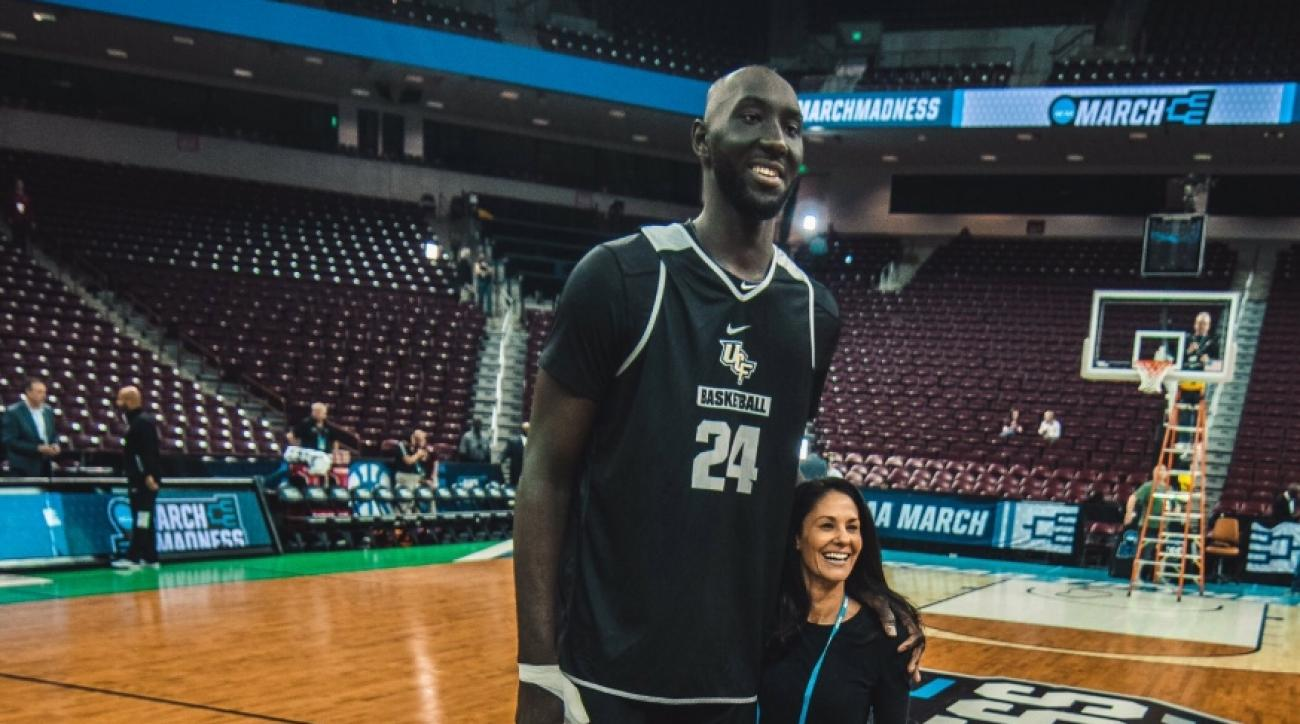 Tacko Fall height tracy wolfson