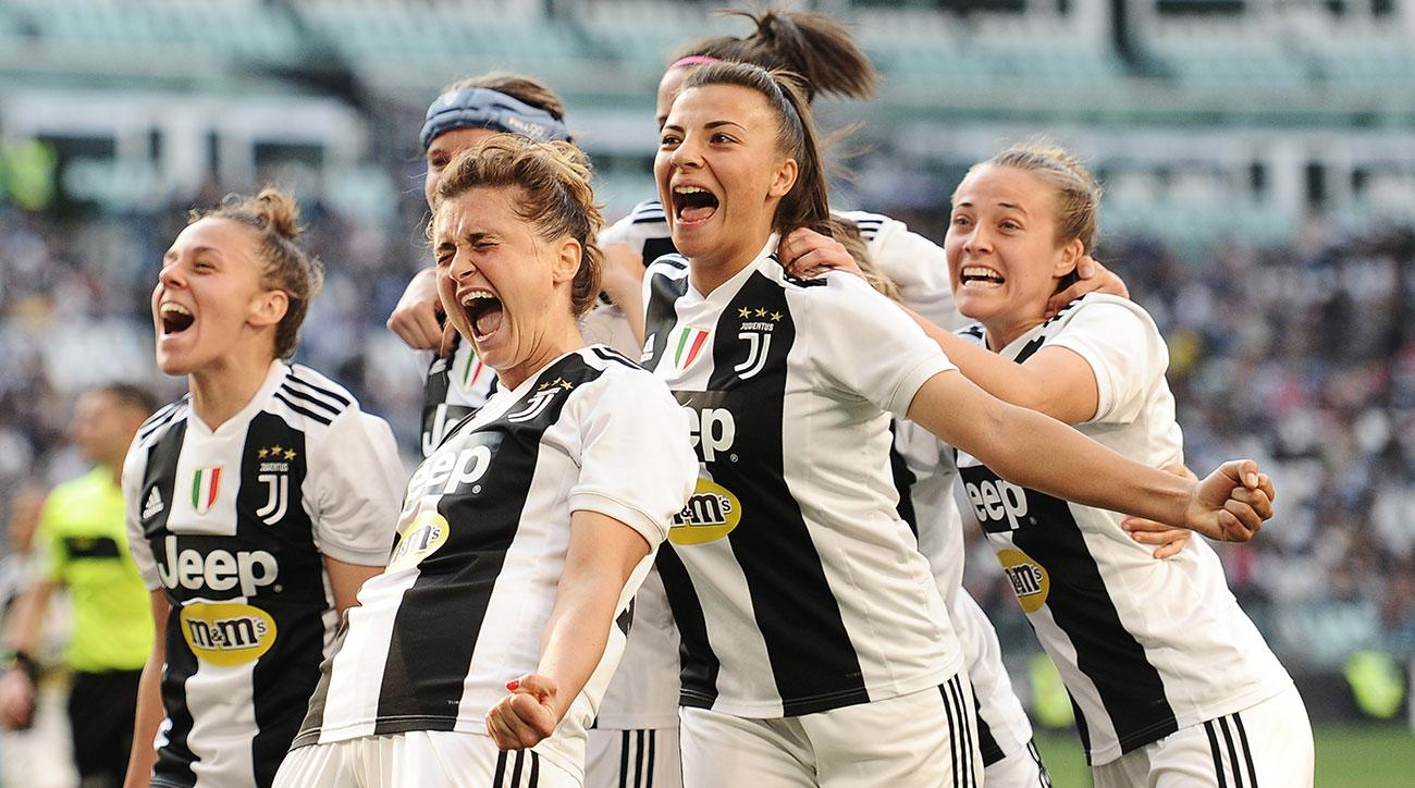 Juventus Women Beats Fiorentina Sets Crowd Record Video Si Com