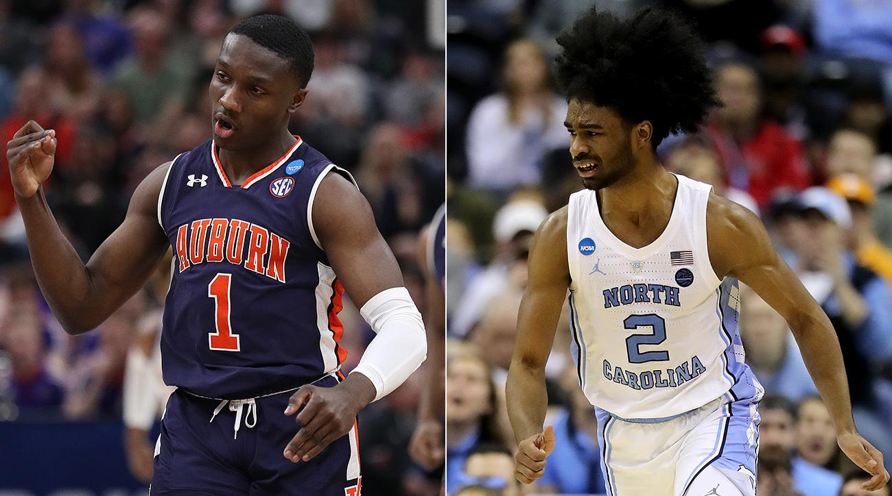 North Carolina and Auburn's Sweet 16 Matchup Will Be Fast, Fun and Refreshingly Crazy