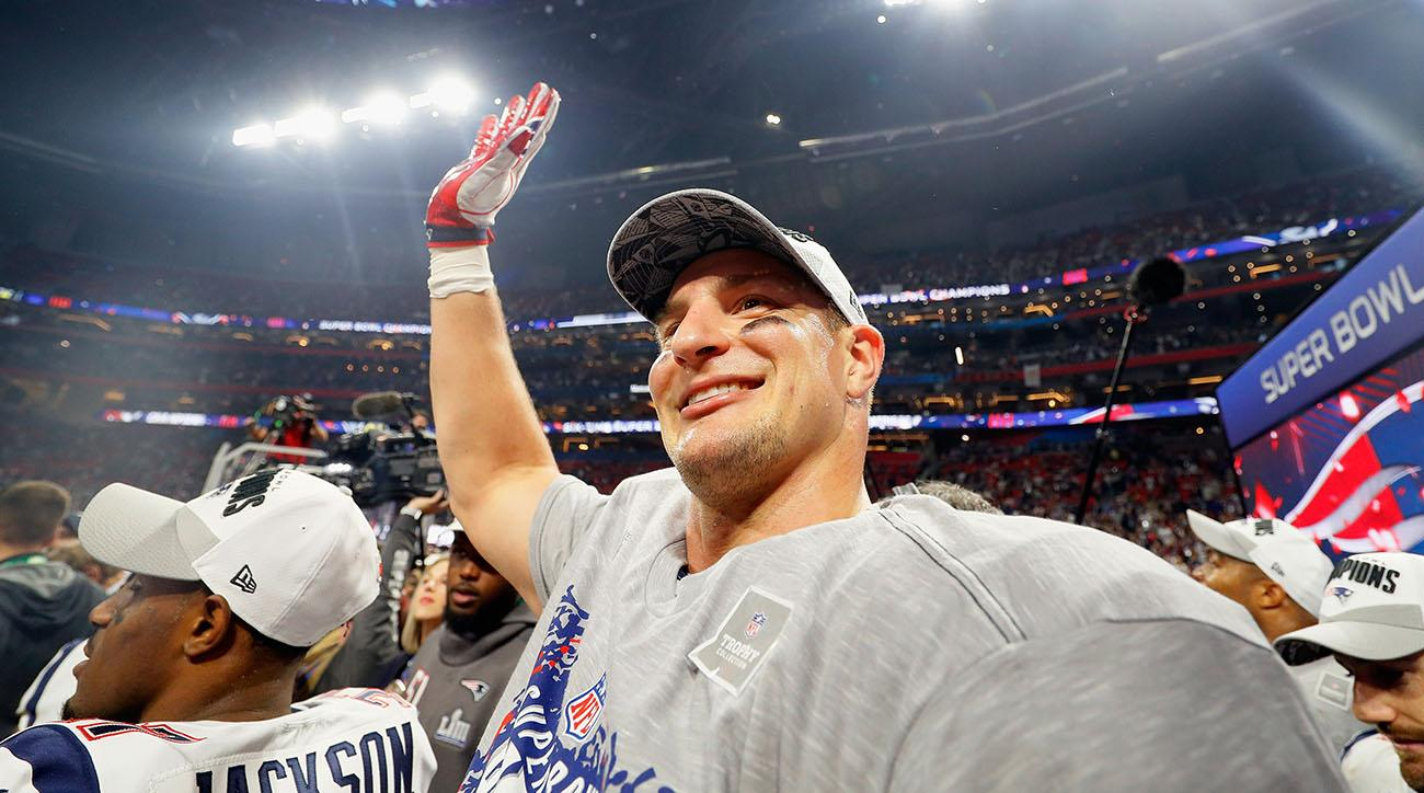 0e716c1e921 Rob Gronkowski retires  Patriots TE announces decision on Instagram ...