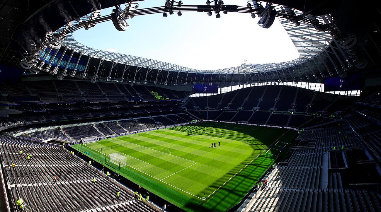 Image result for Tottenham hotspur stadium