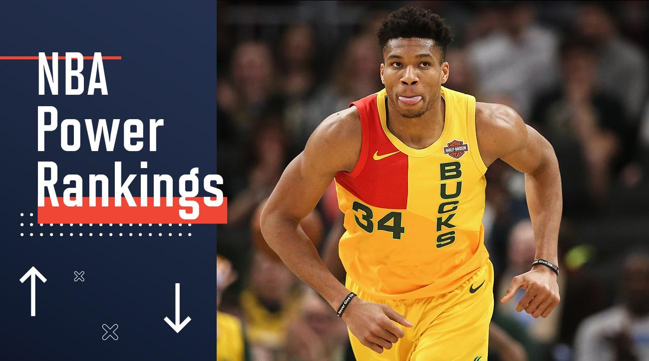 bdf5c661a NBA Power Rankings  Can Giannis and the Bucks Keep Magnificent Season  Rolling