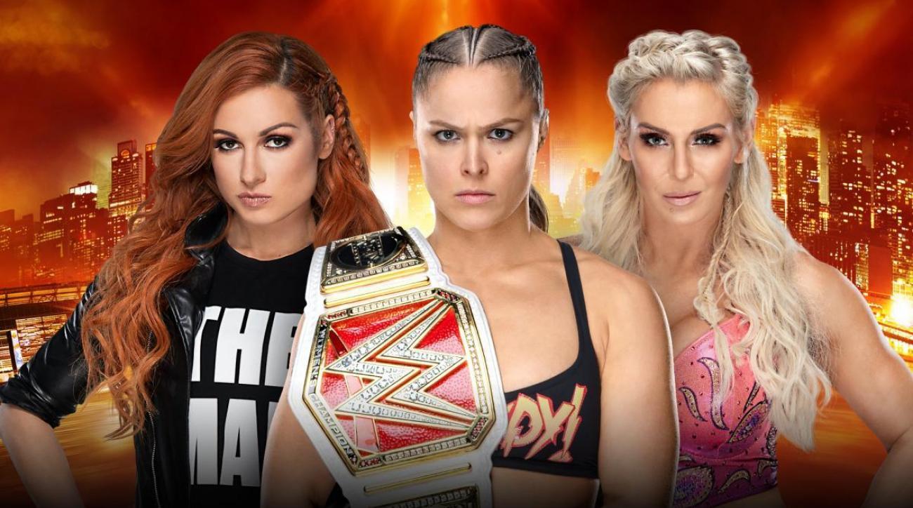 WrestleMania 35 main event: Ronda Rousey-Becky Lynch-Charlotte