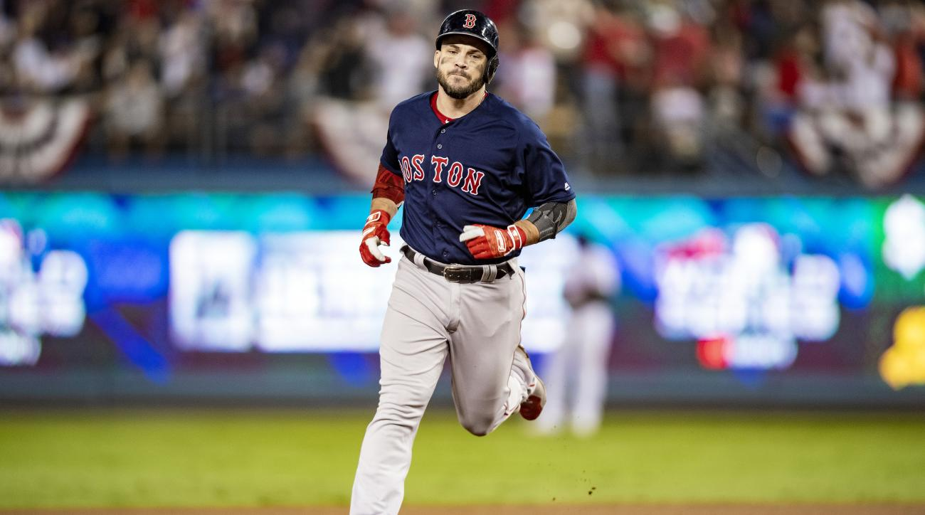 World Series - Boston Red Sox v Los Angeles Dodgers - Game Five (G)