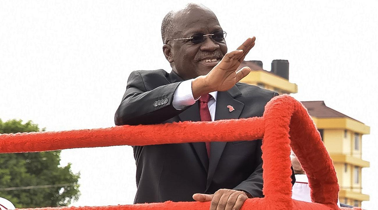 Tanzania president John Magufuli is quite pleased with his nation's AFCON qualifying efforts