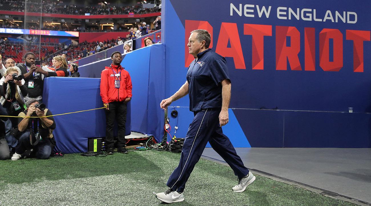 Super Bowl LIII: New England Patriots Vs Los Angeles Rams At Mercedes-Benz Stadium in Atlanta