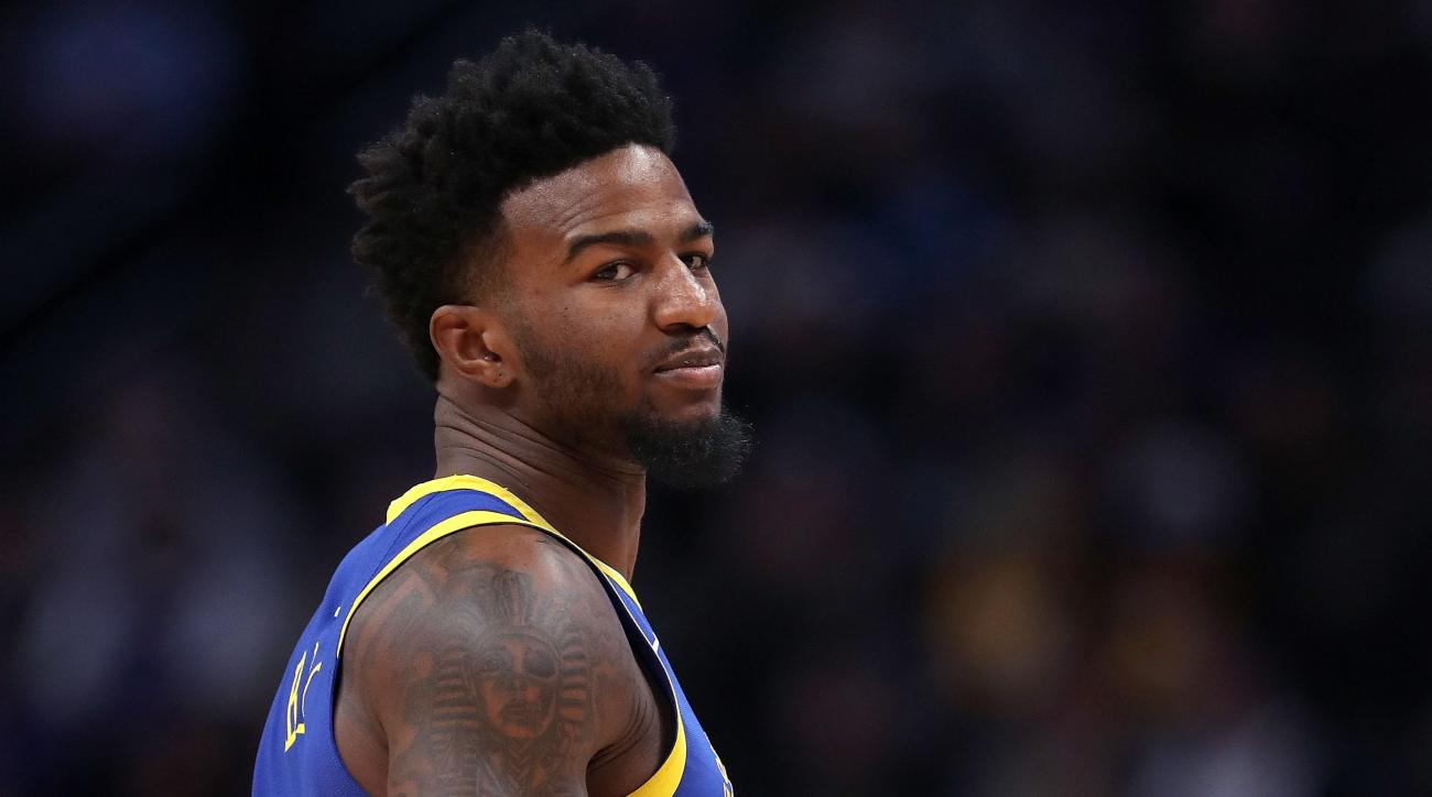 1ef4beca755 Warriors' Jordan Bell suspended over hotel candle charge | SI.com