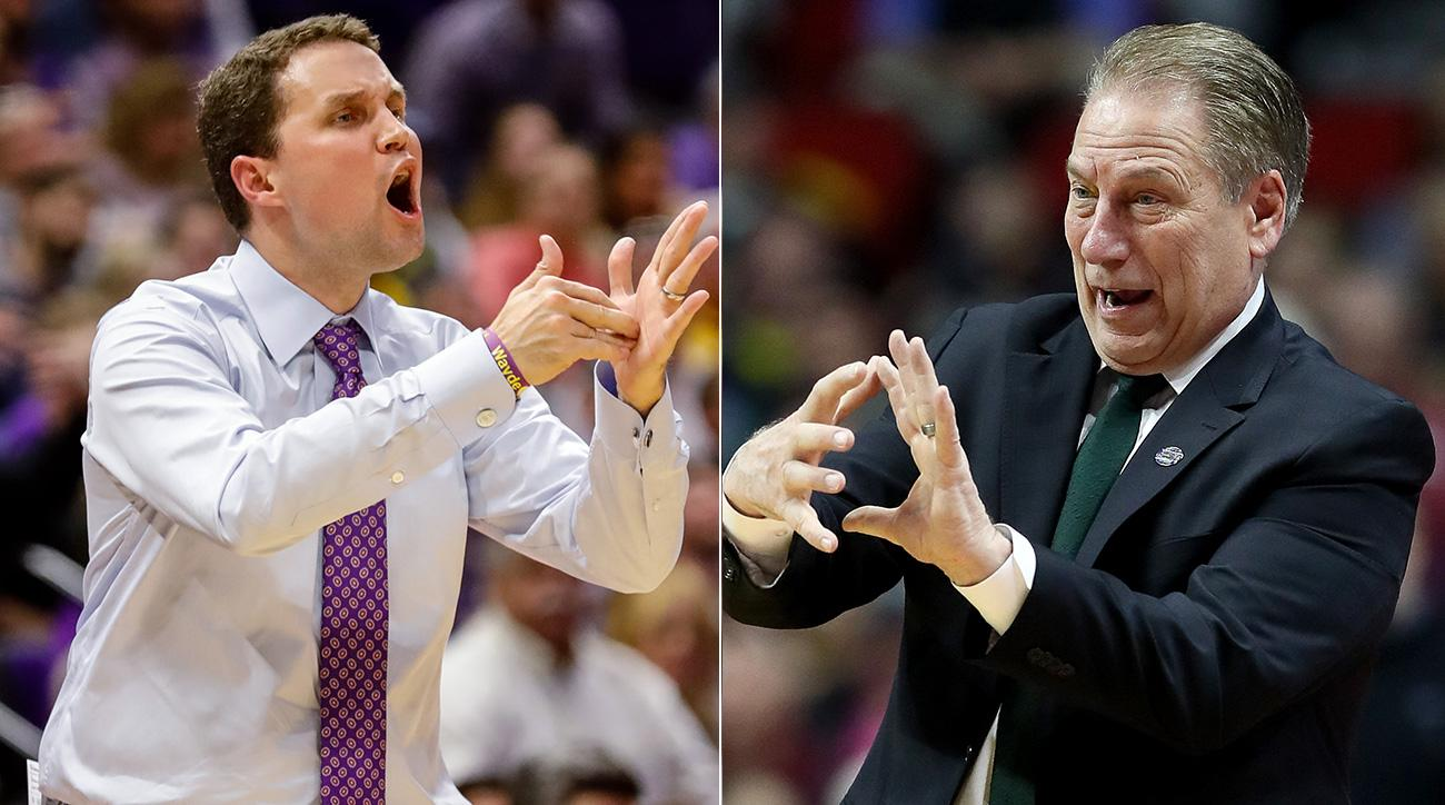 March Madness 2019: Tom Izzo or Will Wade? NCAA viewers much make choice