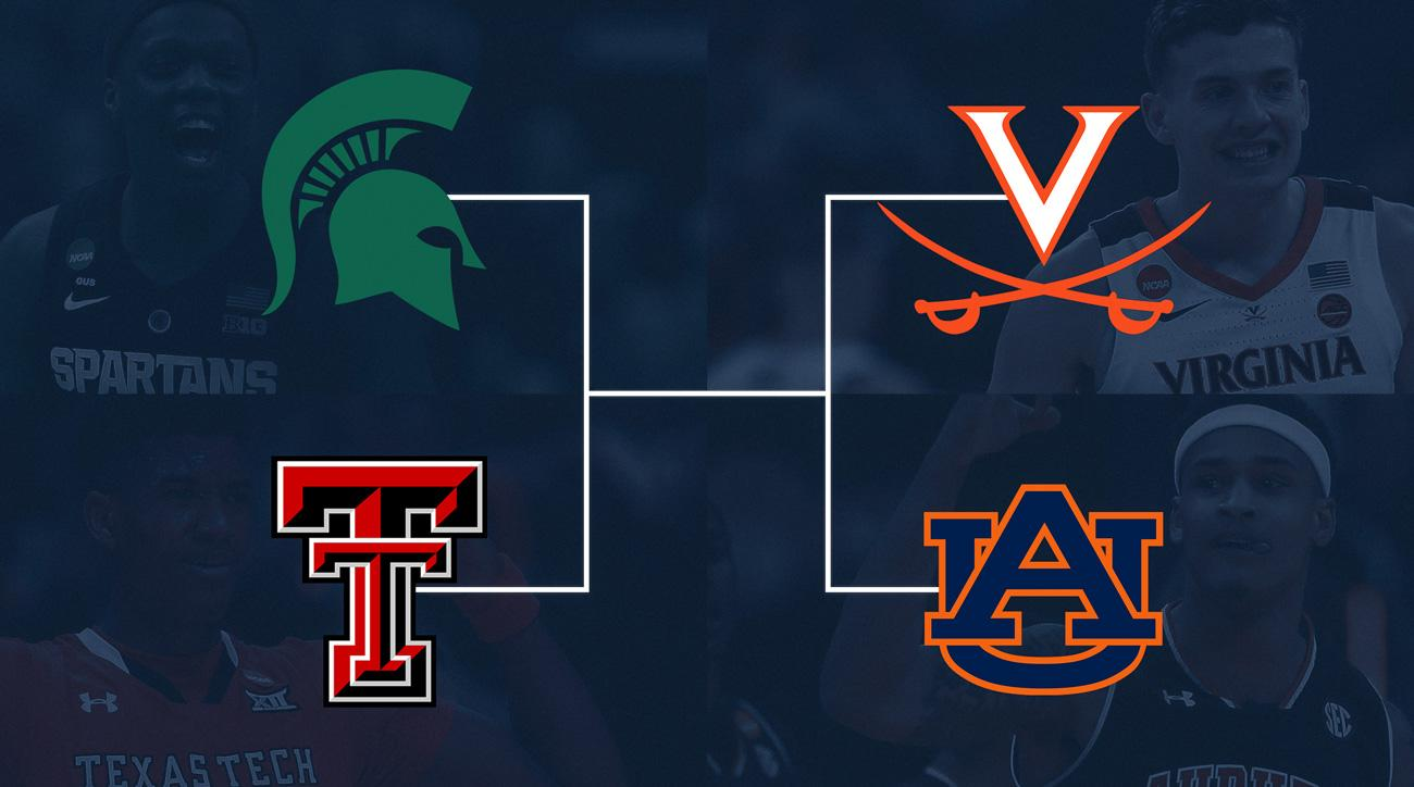Final Four 2019: UVA vs Auburn, Michigan State vs Texas Tech