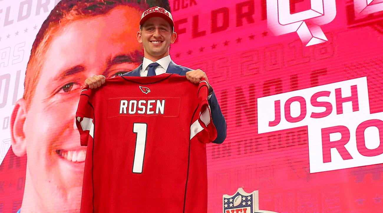 Josh Rosen drafted by Cardinals after trade up in 2018 NFL draft