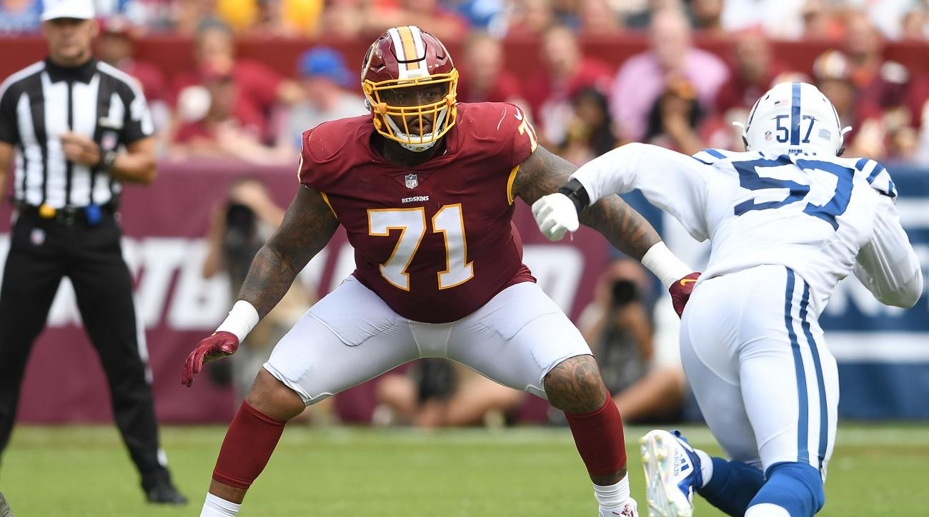 Report: Redskins' Trent Williams Doing Fine After Procedure to Remove Growth From Scalp