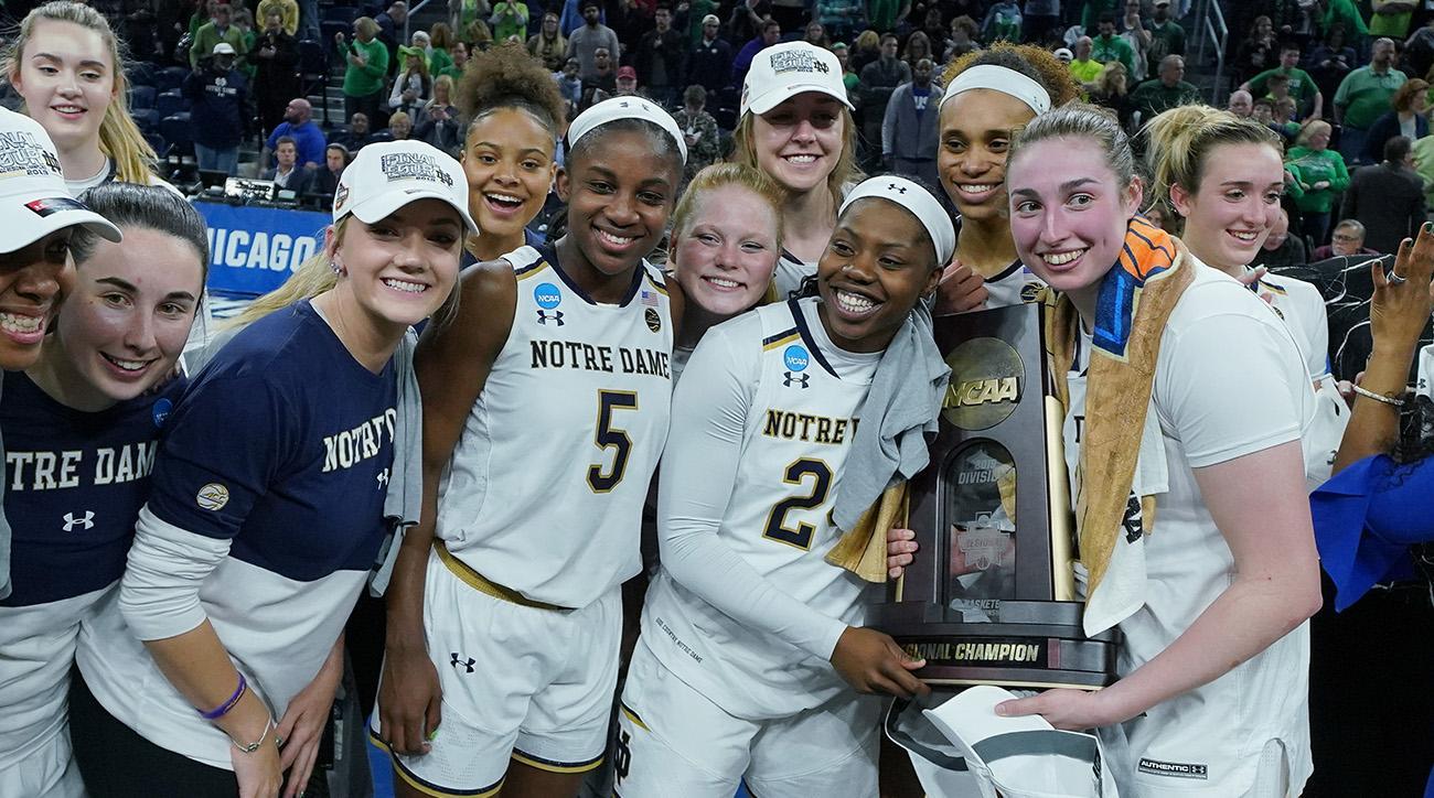NCAA BASKETBALL: APR 01 Div I Women's Championship - Quarterfinals - Notre Dame v Stanford