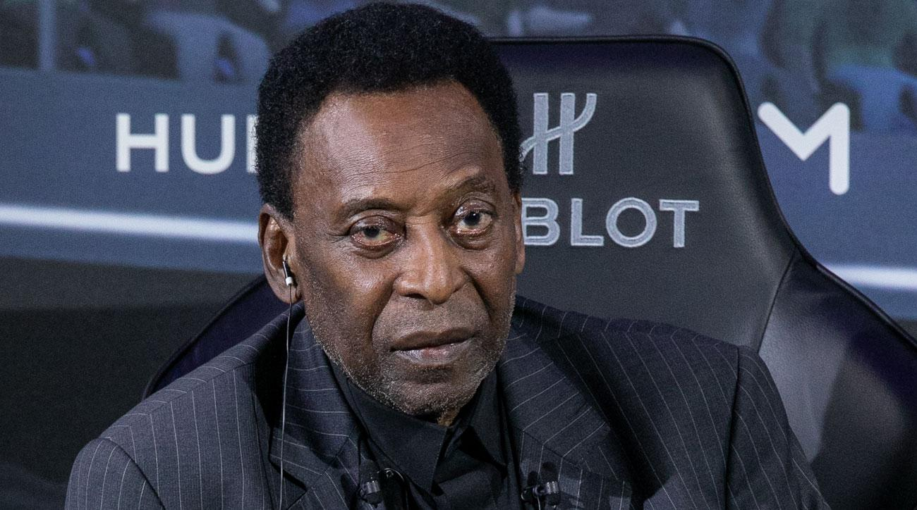 Pele fell ill after an appearance in Paris