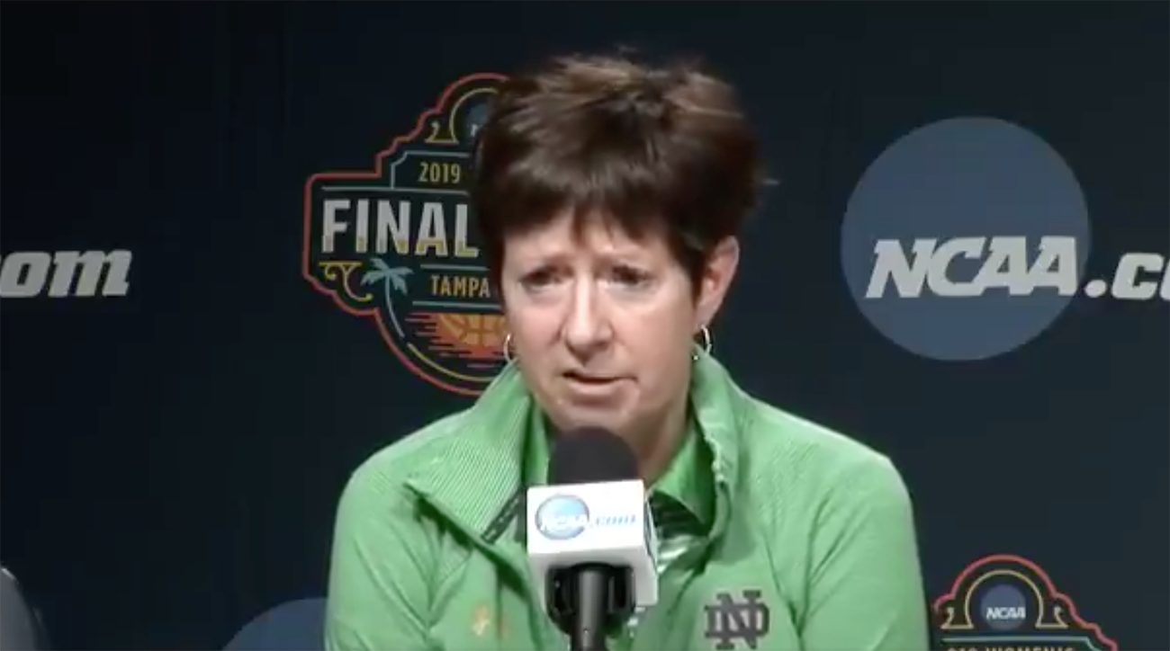 muffet mcgraw, notre dame, march madness, era, equal rights amendment, Muffet McGraw women's equality, 2019 march madness, ncaa tournament, 2019 ncaa tournament