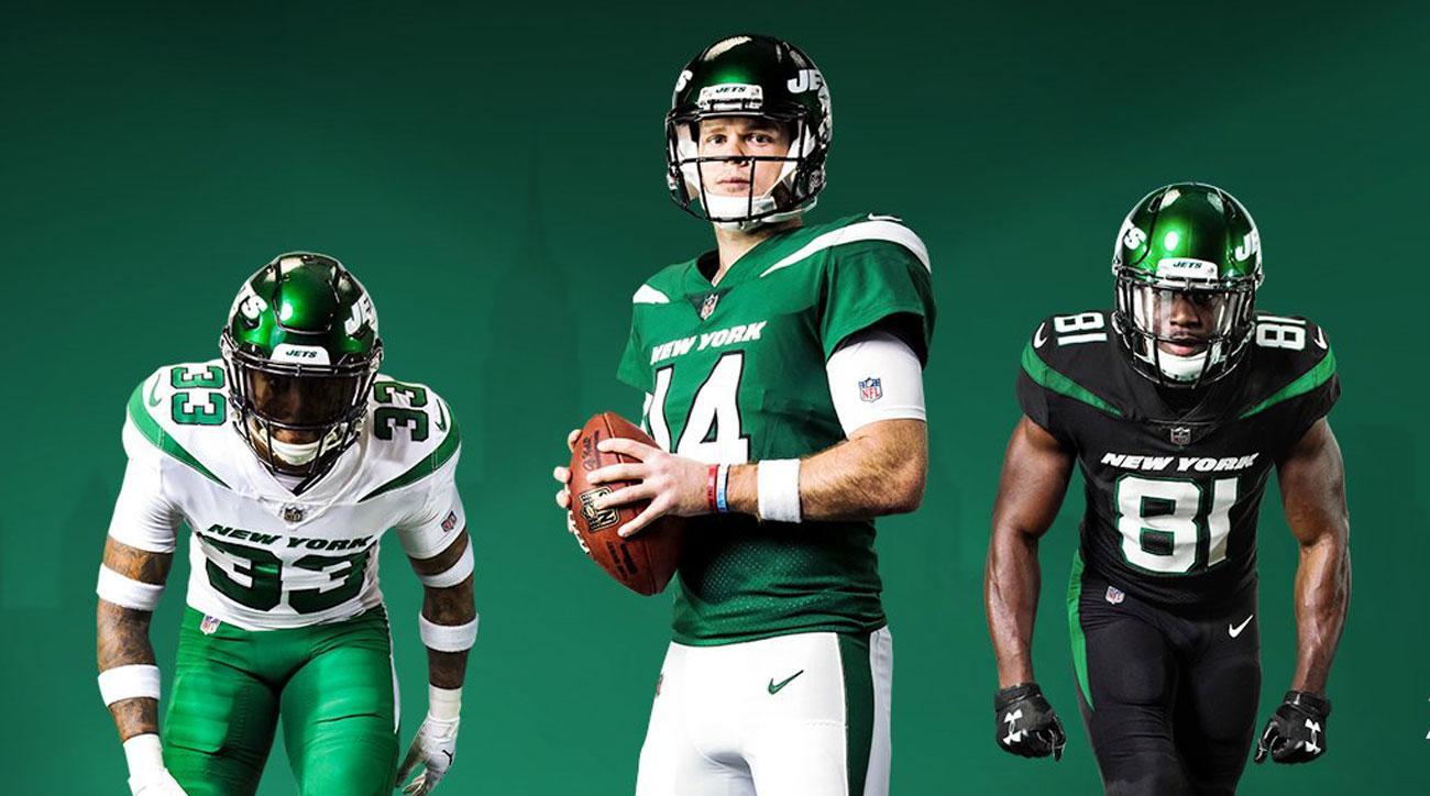 beb6c48835f New York Jets unveil new jerseys for 2019 NFL season | SI.com