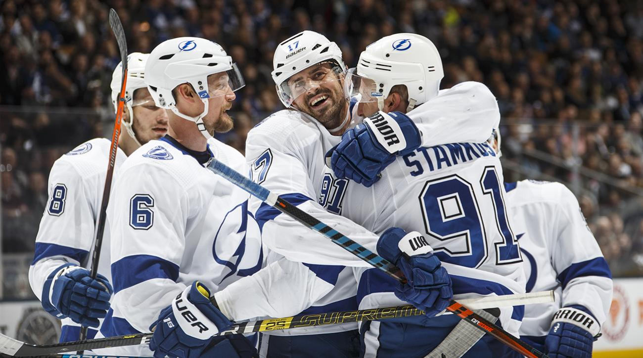 Boston faces Eastern Conference-leader Tampa Bay
