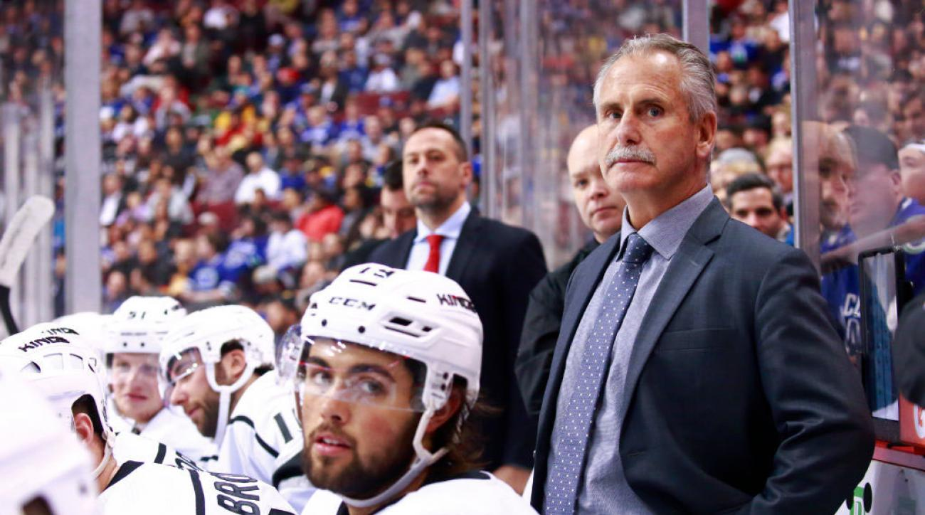 LA Kings Won't Retain Interim Head Coach Willie Desjardins