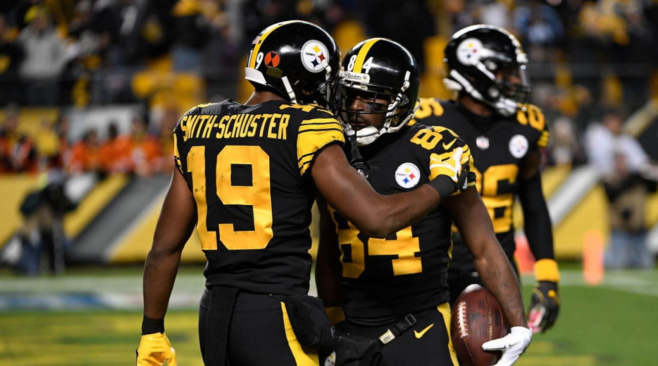fc9f2d1e342 Antonio Brown takes another Instagram shot at JuJu Smith-Schuster | SI.com