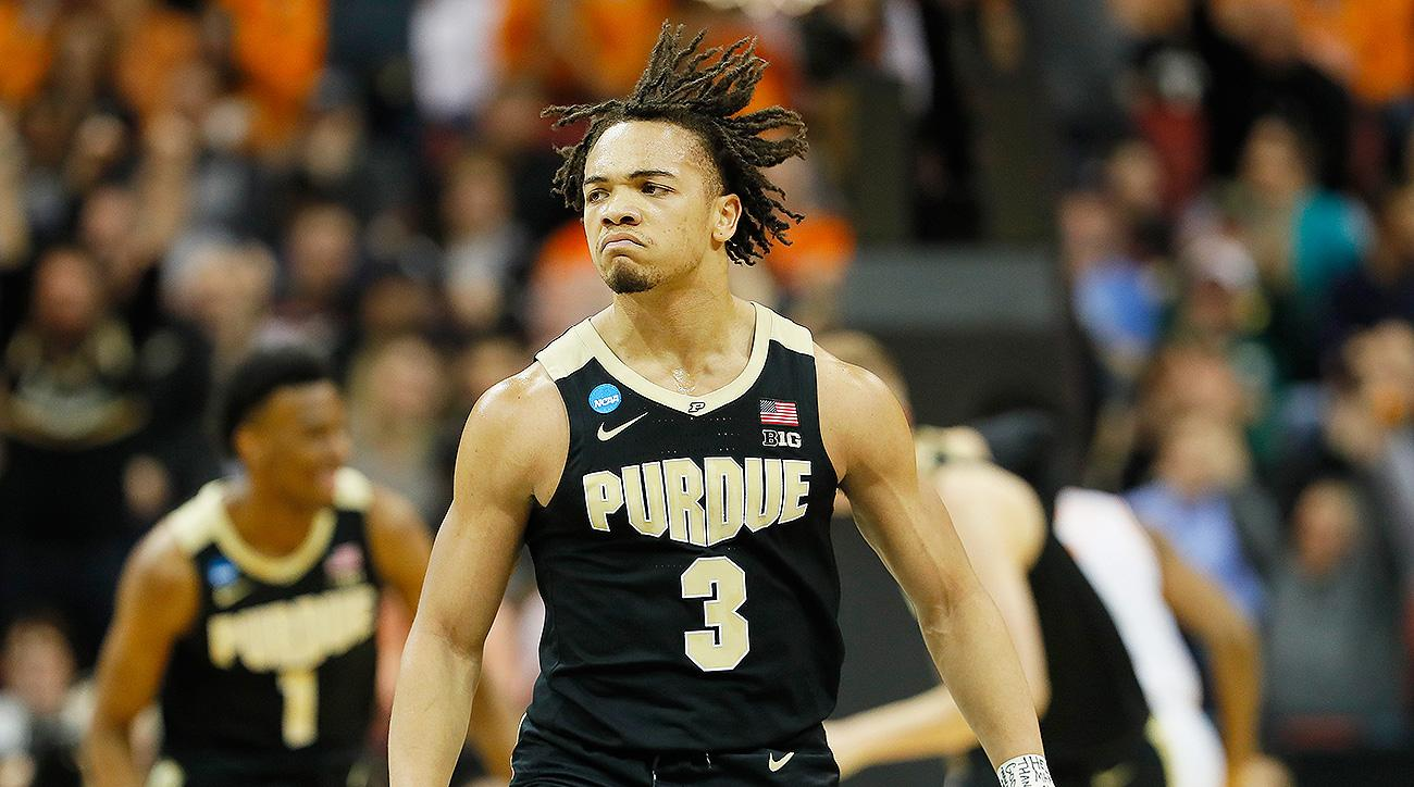 March Madness 2019 highlights Carsen Edwards Purdue Virginia